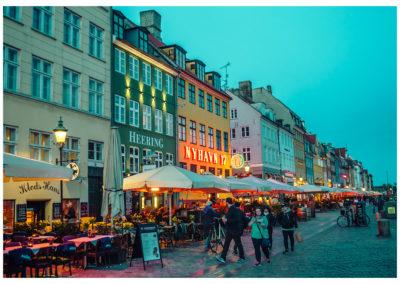 Kopenhaga_Nyhavn noca