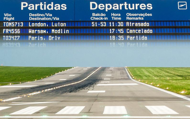 Odwołany lot Ryanair, czyli standard ostatnich dni.